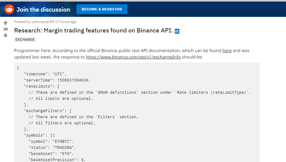 Binance Reportedly Has Plans to Integrate Margin Trading, Sells BTC for Fiat in Australia 13
