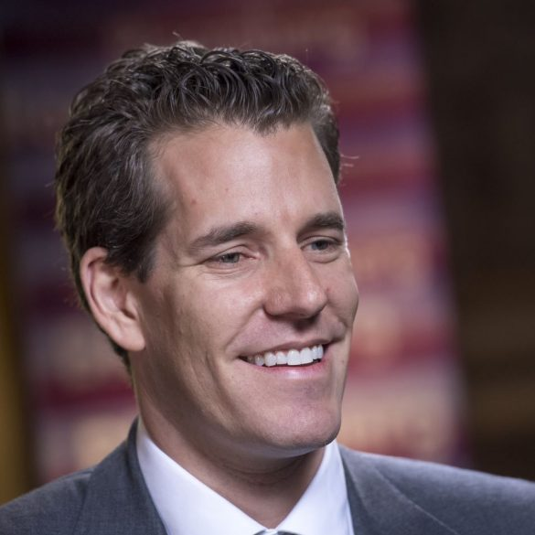 "Cameron Winklevoss on Crypto ""The Future of Money is Literally Being Built Before Your Eyes."" 13"