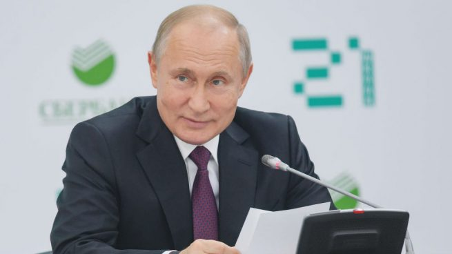 Vladimir Putin. President of Russia